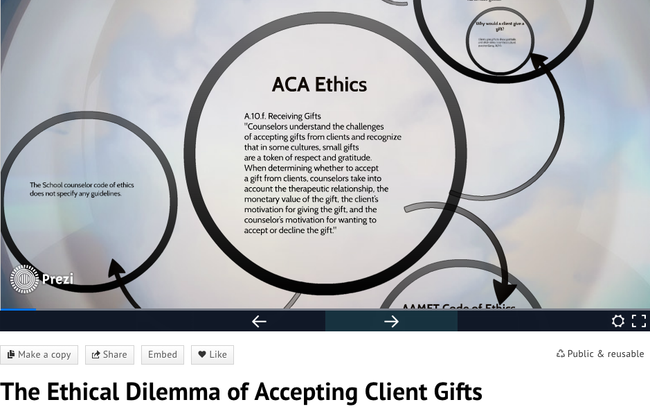 examples of ethical dilemmas in school counseling