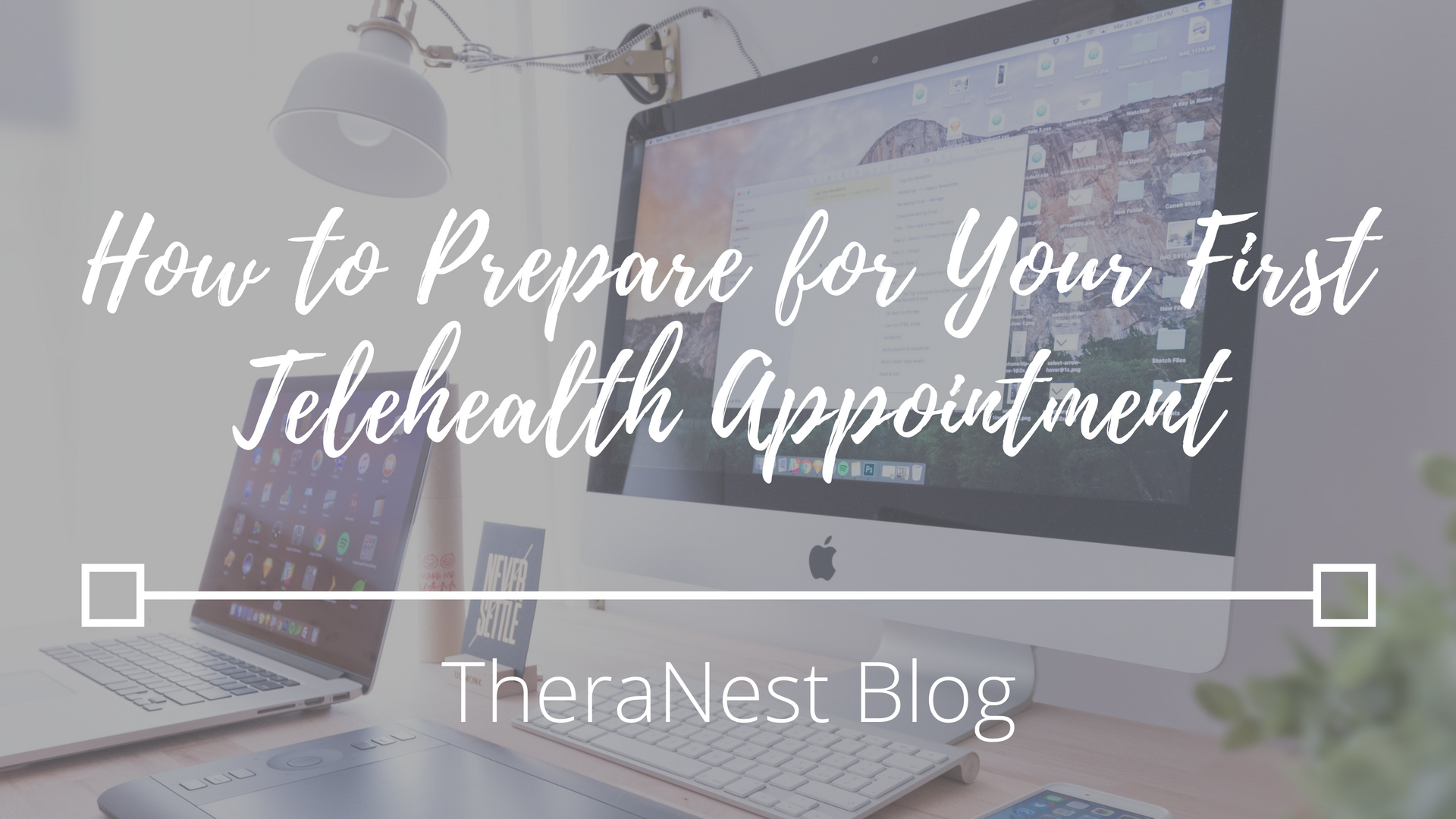 How to Prepare for Your First Telehealth Appointment - TheraNest Blog