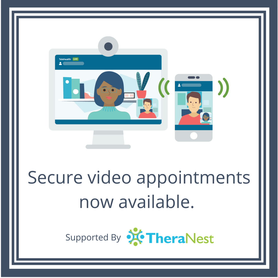 Telehealth in TheraNest Marketing Image - TheraNest Blog