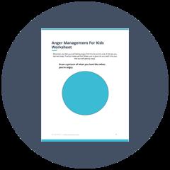 Free Anger Management PDF Worksheet for Kids   TheraNest