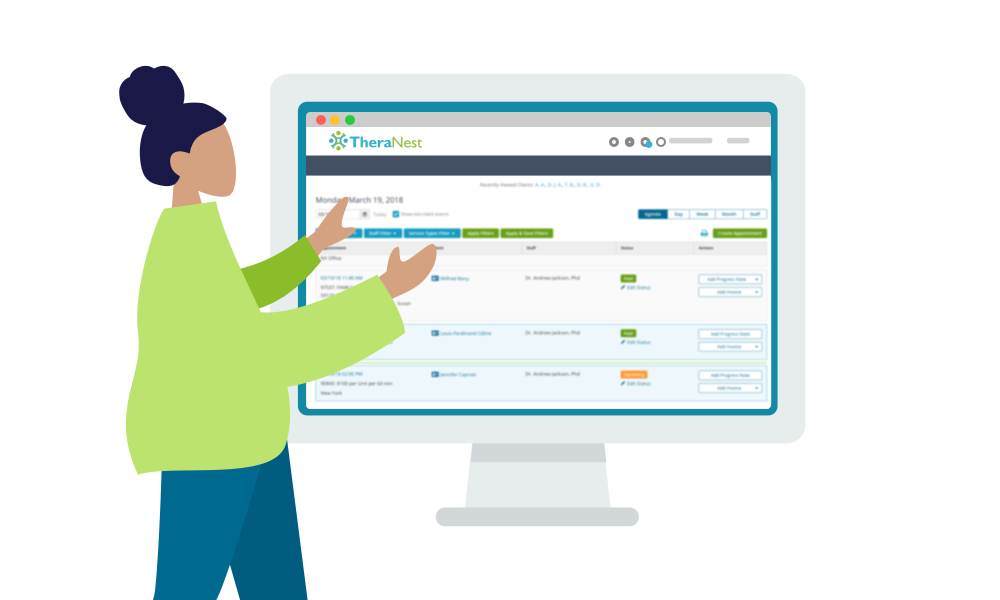 Practice Management Software for Behavioral Health | TheraNest